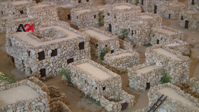 مهندسة فلسطينية تستخدم المجسمات الحجرية لتوثيق تاريخ مدينة نابلس