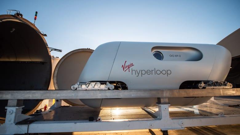 فيرجن هايبرلوب تكمل أول رحلاتها التجريبية مع ركاب فعليين