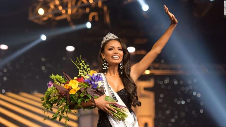 للمرة الأولى.. امرأة من أصول أفريقية تتوج بلقب ملكة جمال أمريكا