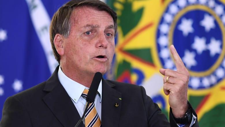 الرئيس البرازيلي: آسف على ضحايا فيروس كورونا لكننا سنموت جميعاً يوماً ما