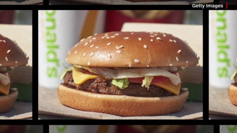 ماكدونالدز يقدم برجر خاليا من اللحم بأمريكا.. كيف جاءت التعليقات؟