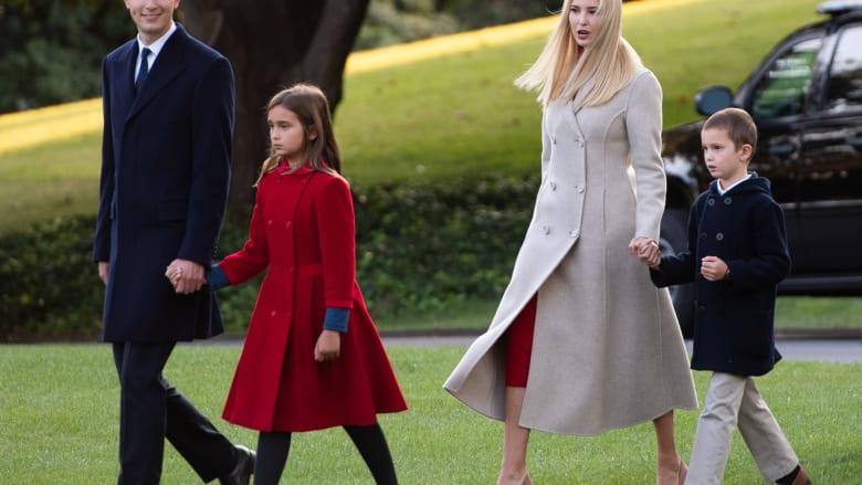 إيفانكا ترامب وزوجها يسحبان أطفالهما من مدرسة شكا مسؤولوها عدم مراعاتهما إرشادات كورونا