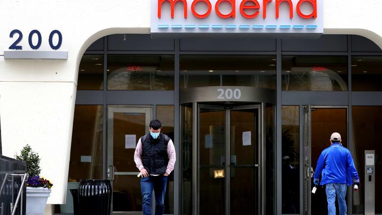 ارتفاع حاد في الأسهم بعد إعلان شركة موديرنا عن لقاح كورونا