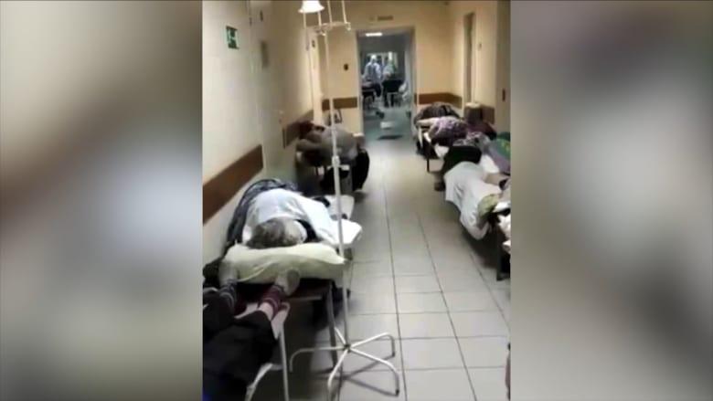 """تحقيق حصري لـCNN.. مشاهد """"مفجعة"""" لوضع فيروس كورونا في روسيا"""