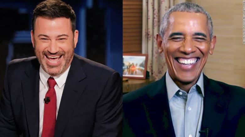 صراخ وبكاء.. أوباما يفاجئ إحدى معجباته على الهواء