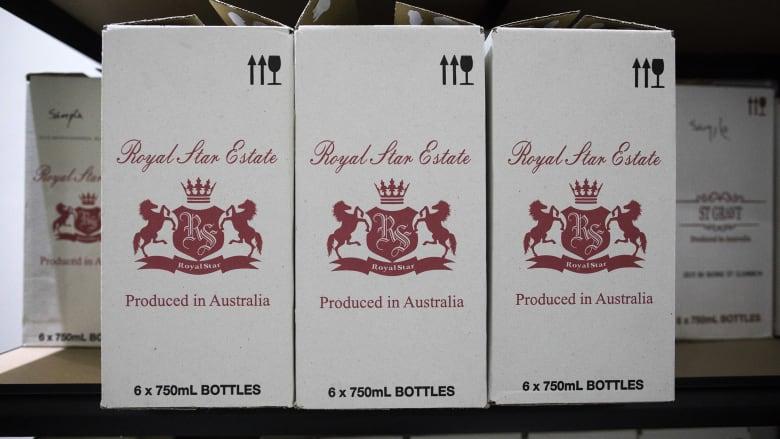 الصين تفرض رسوماً جمركية تصل إلى 212٪ على واردات النبيذ الأسترالية