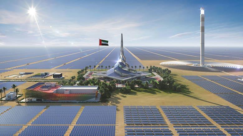 أكبر مشروع طاقة مركزة في العالم.. إليكم مجمع محمد بن راشد للطاقة الشمسية في دبي