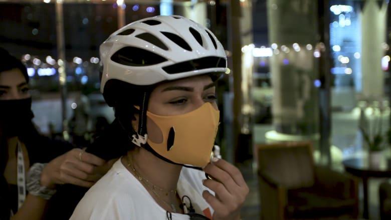 شيخة الشيبة.. رياضية بحرينية مبتورة الذراع تشارك في تحدي دبي للياقة