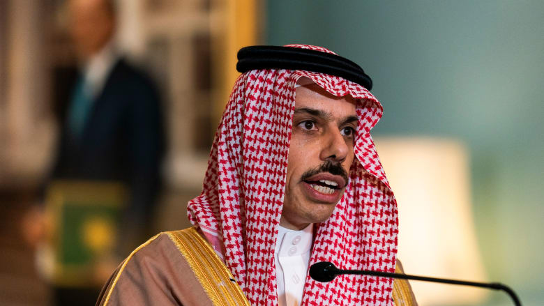 وزير خارجية السعودي يوضح موقف المملكة من التطبيع مع إسرائيل وإداراة بايدن وإيران وتسوية الأزمة الخليجية