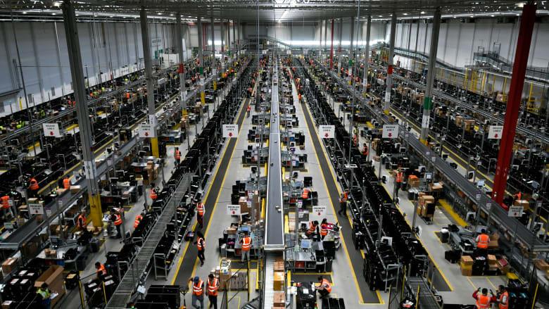 في عام كورونا.. أمازون تصبح خامس أكبر شركة من حيث أعداد الموظفين