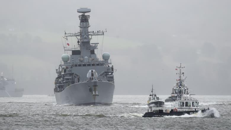بريطانيا تعتزم نشر سفن دورية لحماية مياهها حال خرجت من الاتحاد الأوروبي دون اتفاق