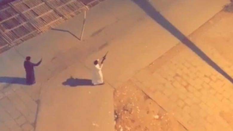 صورة نشرتها إمارة مكة من الفيديو المتداول