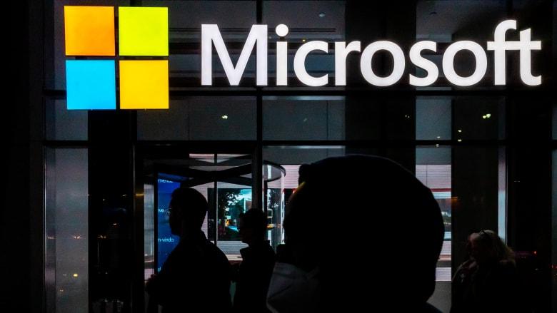 صورة ارشيفية تظهر شعار مايكروسوفت