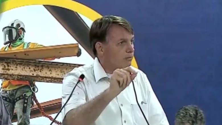 رئيس البرازيل: إذا أصبحت تمساحاً بعد لقاح فايزر فهذه مشكلتك