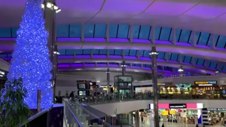 بعد ازدحام شديد لمغادرة لندن.. هدوء في مطار هيثرو بعد قيود السفر