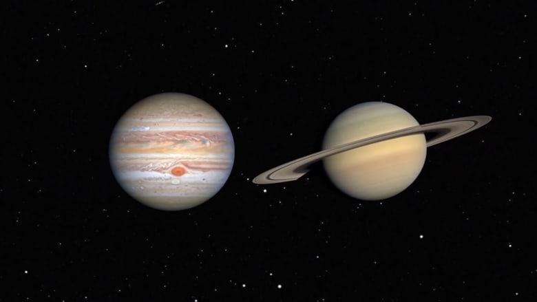 """شاهد كيف ستبدو الظاهرة الفلكية النادرة """"الاقتران العظيم"""""""
