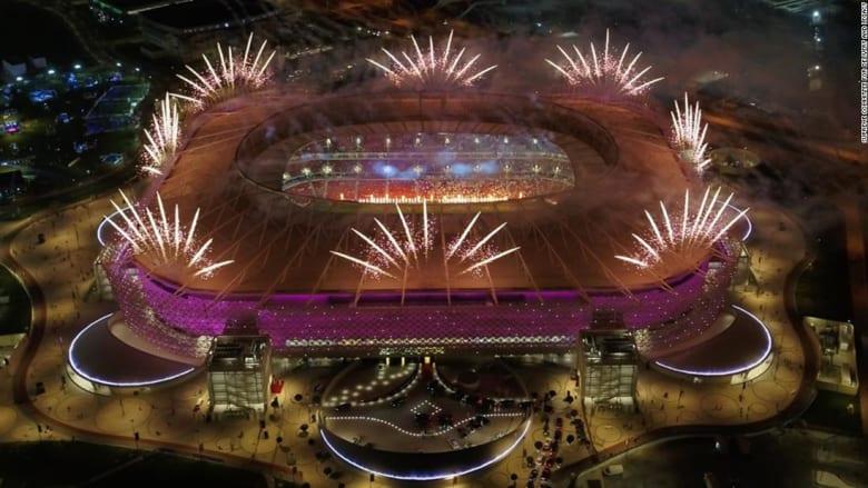"""ملعب أحمد بن علي.. نظرة على """"المكان الذي يروي قصة قطر"""""""