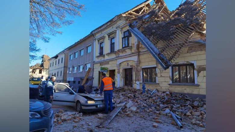 فيديو يظهر آثار أقوى زلزال يهز كرواتيا منذ ظهور أجهزة القياس الحديثة