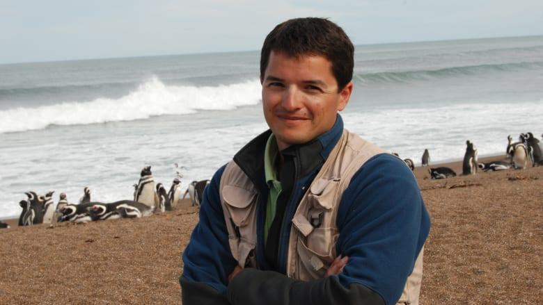 شاهد ما فعله هذا الرجل لحماية الملايين من البطاريق