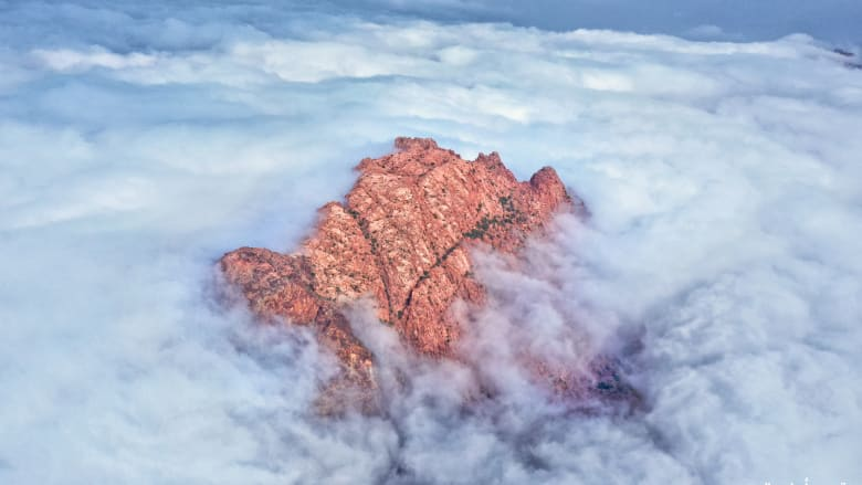 جبال الفقرة في السعودية