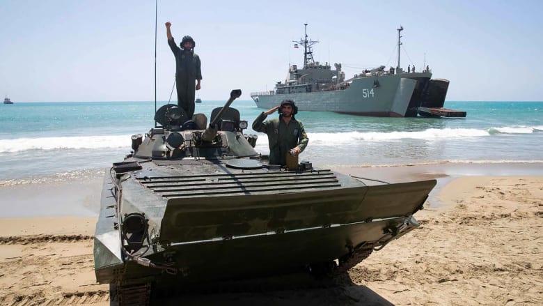 """""""ليس تدريباً"""".. مسؤول أمريكي: البحرية الإيرانية رفعت مستويات التأهب في الخليج"""