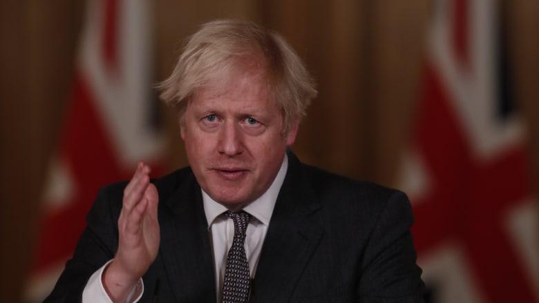 """مع الزيادة المُميتة في بريطانيا.. جونسون: قيود كورونا """"على وشك أن تصبح أكثر صرامة"""""""
