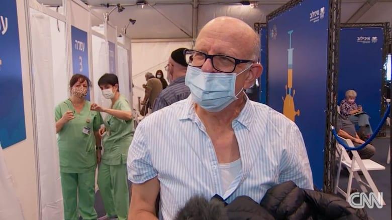 إقبال شديد.. كاميراCNNداخل مركز للتطعيم ضد كورونا في إسرائيل