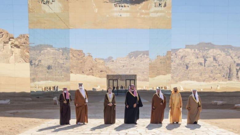 صورة القادة المشاركين بالقمة الخليجية الـ41