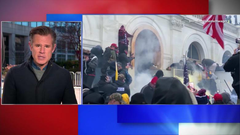 مراسل CNN يشبّه تغطية أعمال شغب الكونغرس بالربيع العربي: شعرت أنني مراسل أجنبي