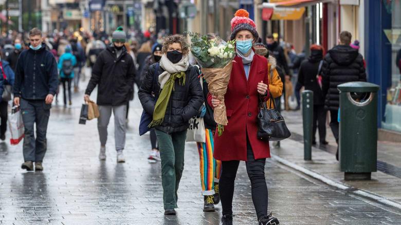 معدل الإصابة بفيروس كورونا بأيرلندا كان الأعلى بالعالم الأسبوع الماضي