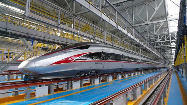 الصين تكشف عن أحدث قطاراتها التي تعمل في ظل مناخات شديدة البرودة