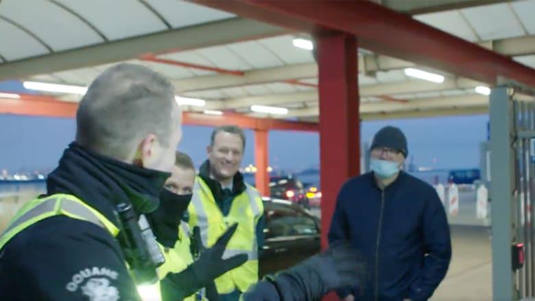 """""""مرحباً بك في بريكست""""..مصادرة شطيرة سائق على الحدود الهولندية"""