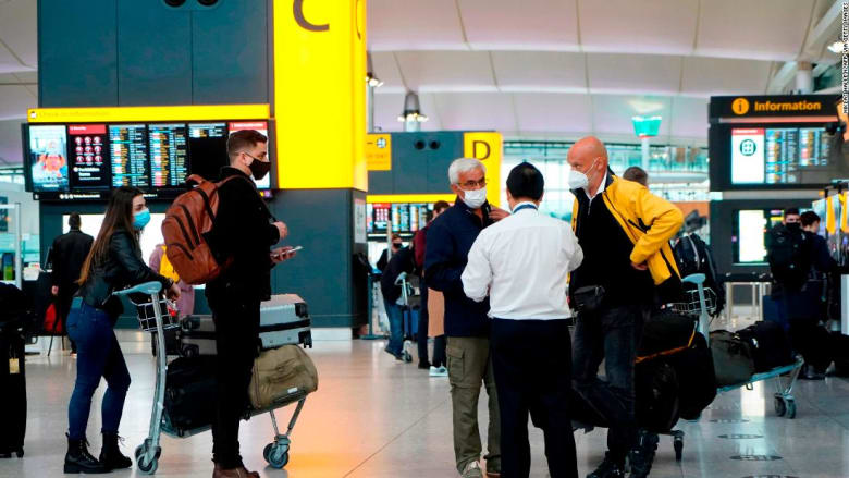 أمريكا تطلب من جميع المسافرين جواً إظهار اختبار سلبي لكورونا قبل دخولها