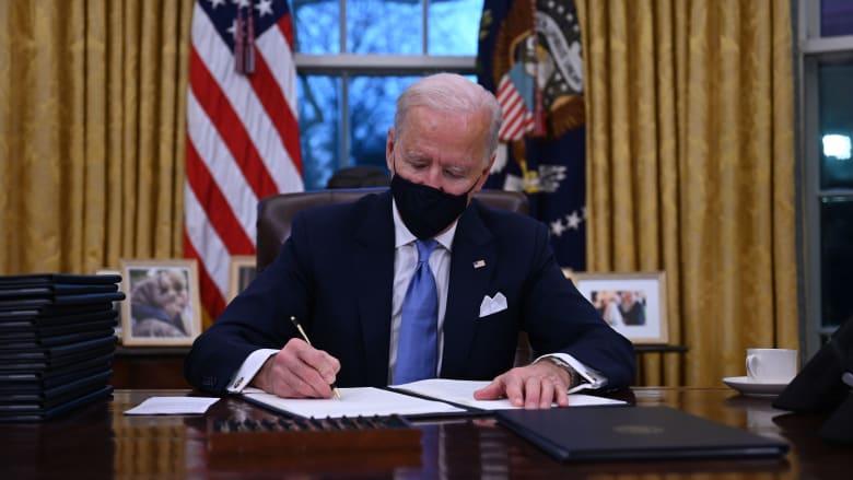 بايدن يوقع على إعادة الولايات المتحدة إلى منظمة الصحة العالمية