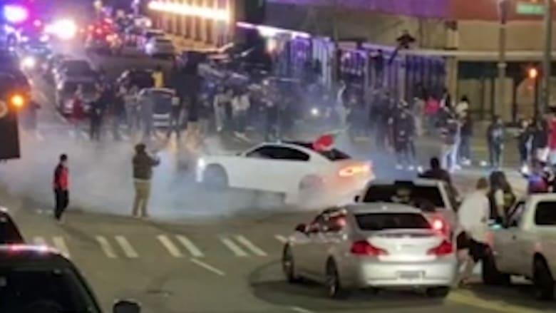 لقطات فيديو من زواية جديدة لحادثة الدهس.. وإدارة الشرطة تُعلق على تصرف الضابط