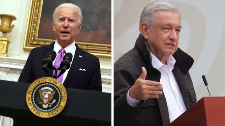 بعد ترودو.. بايدن يجري ثاني مكالمة مع رئيس المكسيك لحل أزمة الهجرة