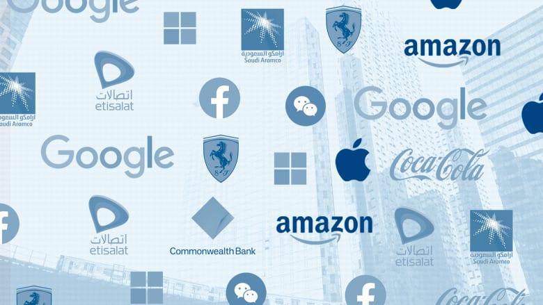 """""""أرامكو السعودية"""" و""""اتصالات"""" من الشرق الأوسط.. هذه العلامات التجارية الأقوى والأعلى قيمة في العالم"""