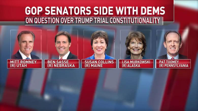 بعد اجتماع مجلس الشيوخ.. ما الذي يخبئه تصويتهم فيما يتعلق بمحاكمة ترامب؟