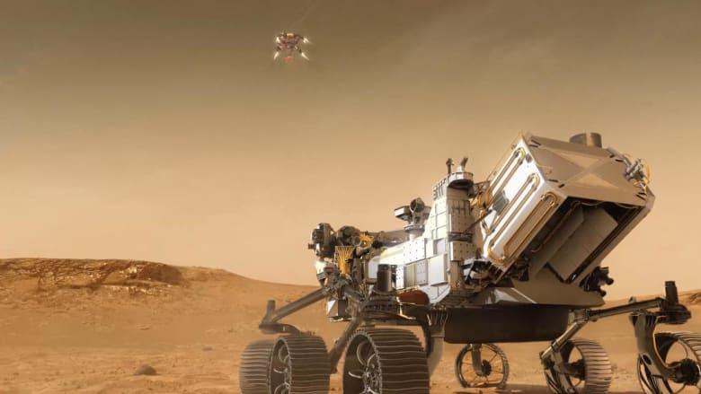 """""""7 دقائق من الرعب"""" على المريخ.. ناسا تستكشف الحياة القديمة على الكوكب الأحمر"""