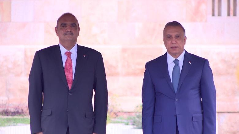 رئيس وزراء الأردن في زيارة إلى بغداد: ندعم العراق ونسانده في دحر الإرهاب