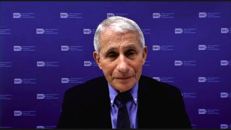 الدكتور أنتوني فاوتشي يناقش كيف يمكن لمتغيرات كورونا أن تؤثر على اللقاحات