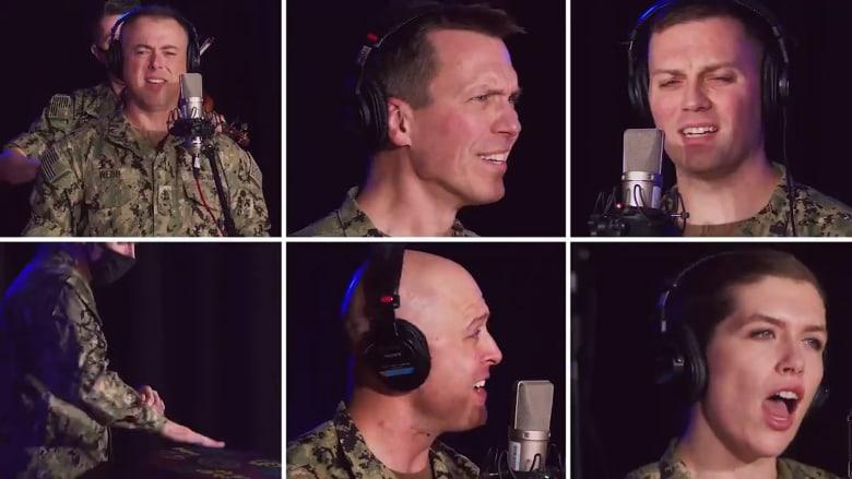 """البحرية الأمريكية تقدم """"ريمكس"""" لإحدى أغاني تايلور سويفت.. فكيف كان الأداء؟"""