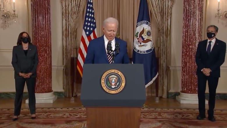 """بايدن في أول خطاب سياسي: الصين """"أخطر منافس"""" للولايات المتحدة"""