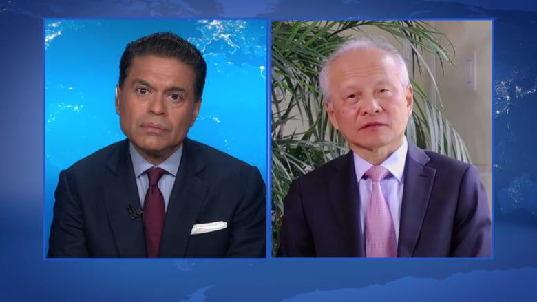 سفير الصين إلى أمريكا يكشف لـCNN الحقيقة وراء حرب التكنولوجيا بين البلدين.. إليك ما قاله