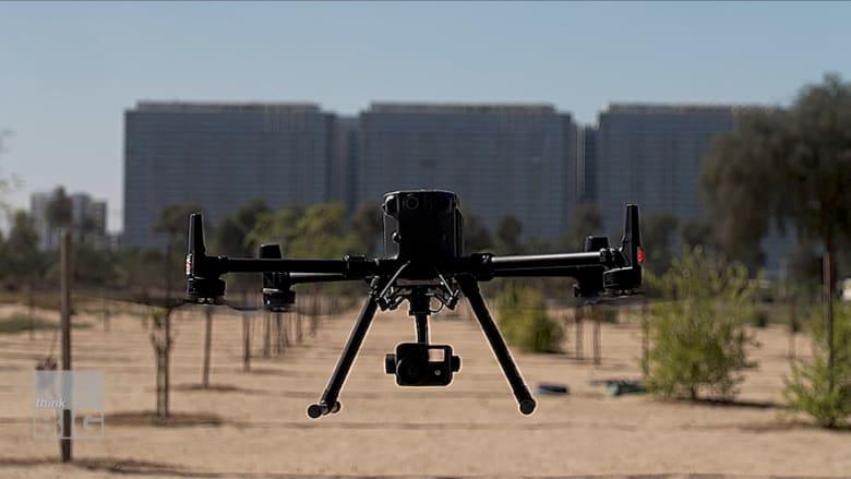 مع مستشعرات الذكية.. شركة تستخدم طائرات بدون طيار لزراعة مستدامة في دبي