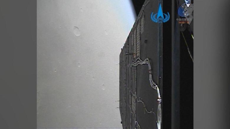 شاهد لقطات جديدة مأخوذة من المركبة الفضائية الصينية لمدار المريخ