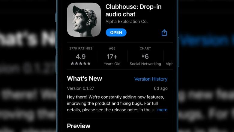 قيمته تصل مليار دولار في أقل من عام.. ما هو تطبيق Clubhouse؟