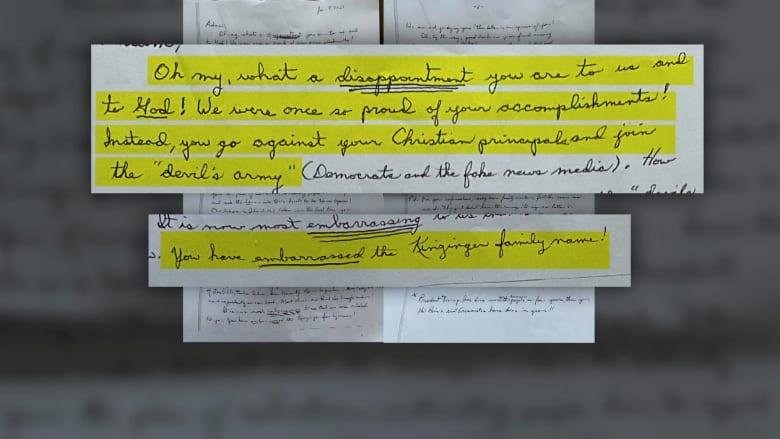 برسالة مكتوبة.. نائب جمهوري يُصدم بنبذ عائلته له بسبب انتقاده لترامب