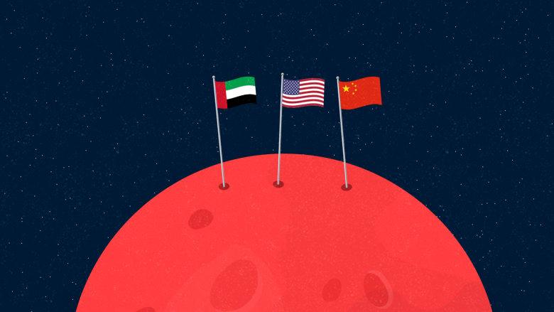 """""""بيرسيفيرانس"""" تصل المريخ اليوم.. كيف تختلف مهمة ناسا عن """"مسبار"""" الأمل الإماراتي والمهمة الصينية؟"""