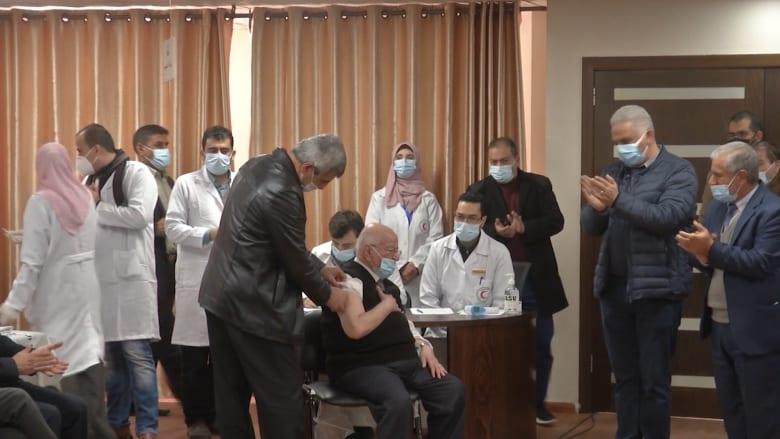 """غزة تبدأ حملة التطعيم ضد فيروس كورونا مع لقاح """"سبوتنيك V"""" الروسي"""